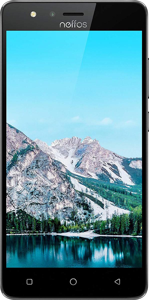 Смартфон Neffos C5S 8 GB, темно-серый смартфон tp link neffos с9 moolight silver