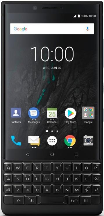 Смартфон BlackBerry KeyTwo 6/128GB black