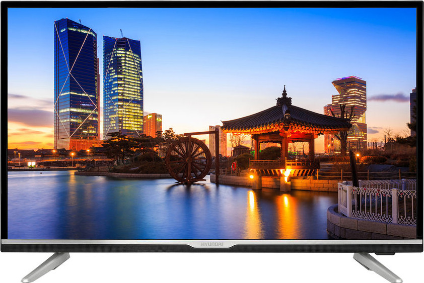 Телевизор HYUNDAI H-LED32R502BS2S 32, черный телевизор телефункен