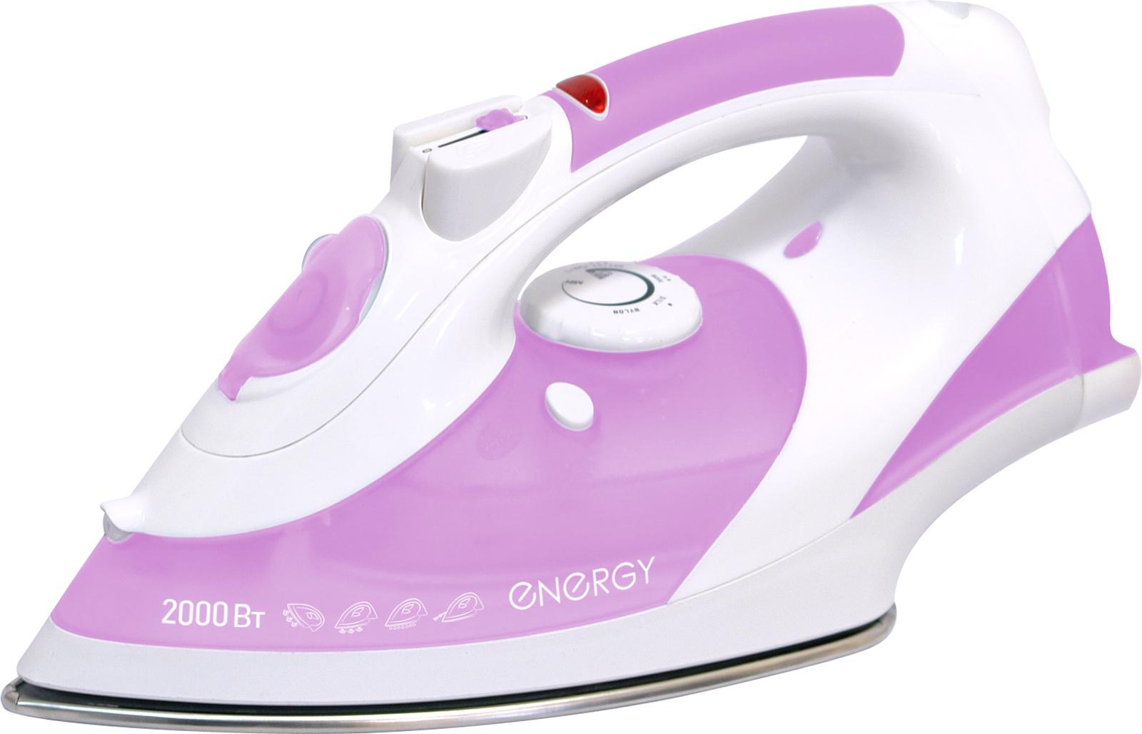 Утюг ENERGY EN-306, 54 270023, розовый утюг energy en 327 blue