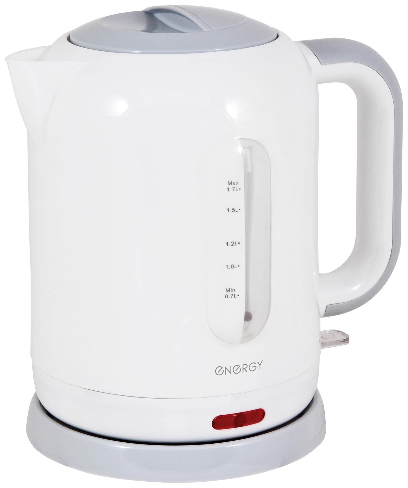 Электрический чайник ENERGY Е-231, 54 153227, белый цены онлайн