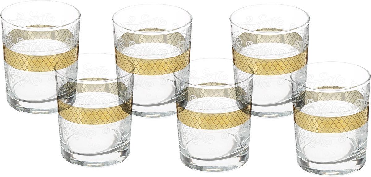 Набор стаканов для виски Гусь-Хрустальный Винтаж, EAV25-405, 255 мл, 6 шт набор стаканов гусь хрустальный веточка 350 мл 6 шт