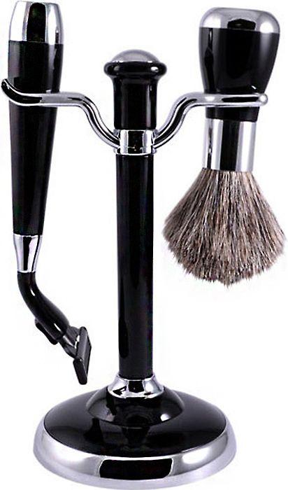 Набор для бритья подарочный, MSS 1622 BLK/C Black станок для бритья lord