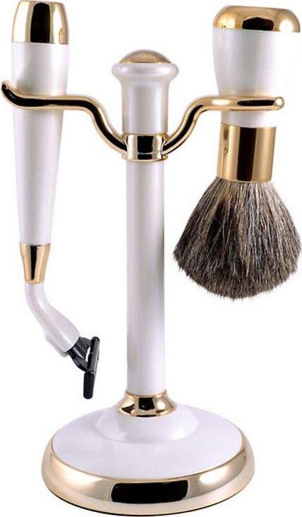 Набор для бритья Weisen подарочный, станок под лезвия для Gillette Mach-3, MSS-1622 PER/G
