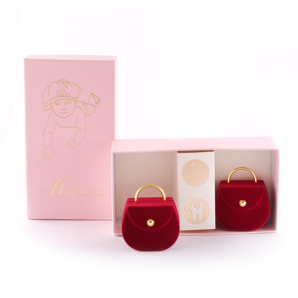 Подарочный набор детский Dream Service Коробочка для первого: локона и зубика, 517 розовый набор шкатулок для рукоделия bestex 3 шт zw001250