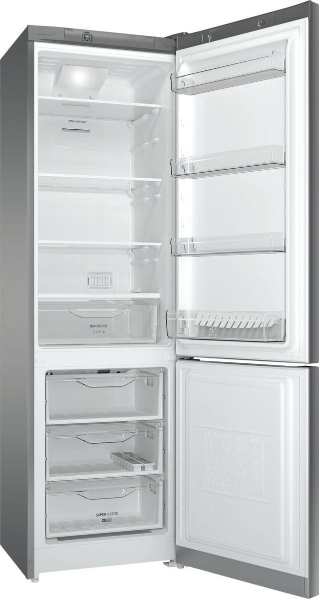 Холодильник Indesit DFE 4200 S, серебристый Indesit