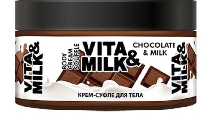 Крем для ухода за кожей Vita&Milk С ароматом Шоколада и молока 250 мл, 40059 цены