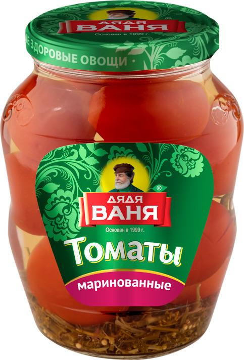 Дядя Ваня томаты маринованные, 680 г lorado томаты маринованные 720 мл