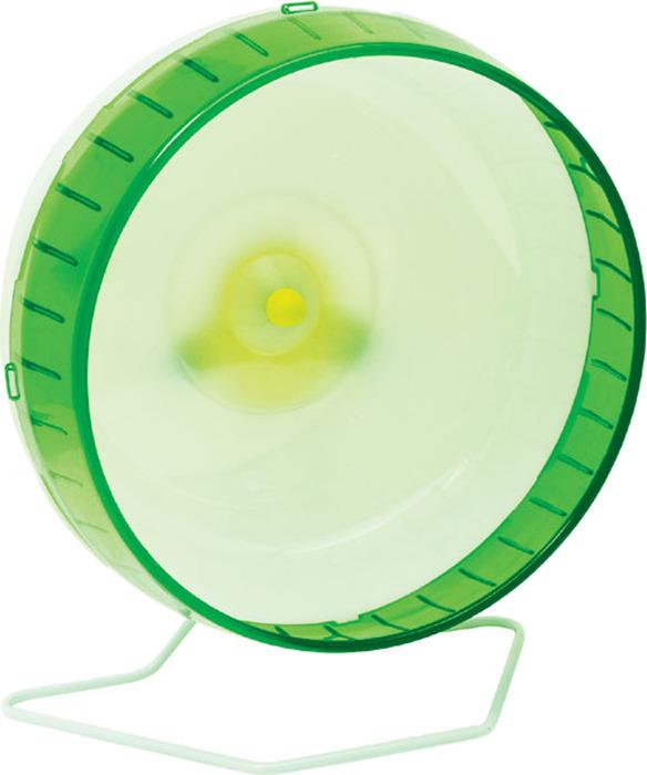 """Колесо для грызунов """"I.P.T.S."""", цвет: белый, зеленый, 30,5 см"""