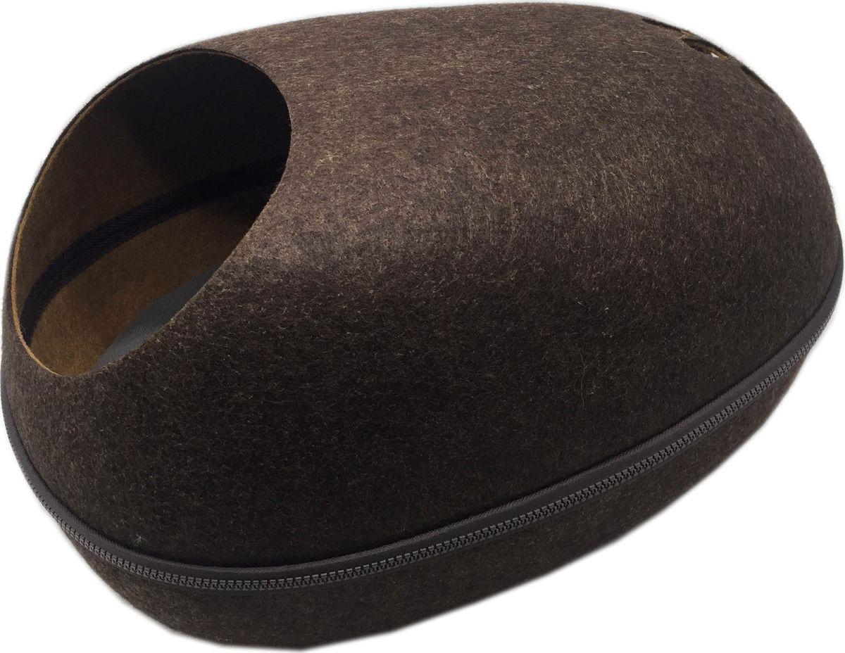 Домик для кошки Fauna International Remy FICP-600, коричневый