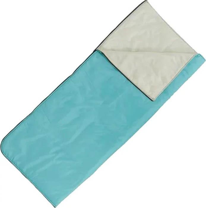 Мешок спальный Onlitop, правосторонняя молния, цвет:бирюзовый, 185 х 70 см мешок спальный onlitop богатырь правосторонняя молния цвет хаки 225 х 105 см