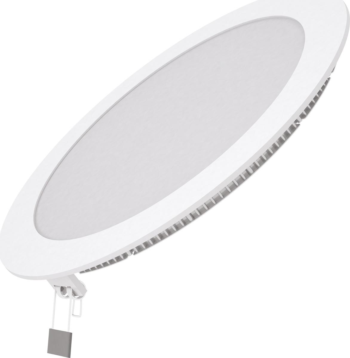цены на Встраиваемый светильник Gauss светодиодный встраиваемый, ультратонкий, круглый, 18 Вт  в интернет-магазинах
