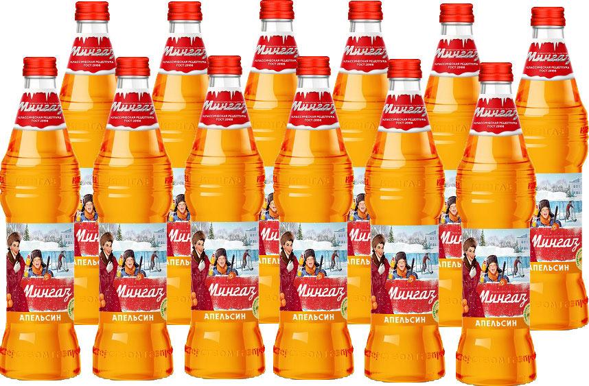 лимонад министерство газировки таежная сказка 6 шт по 1 5 л Лимонад Министерство Газировки Апельсин, 12 шт по 500 мл