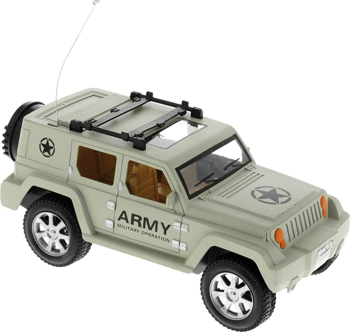 """Машина радиоуправляемая """"Военный джип"""", 1640933"""