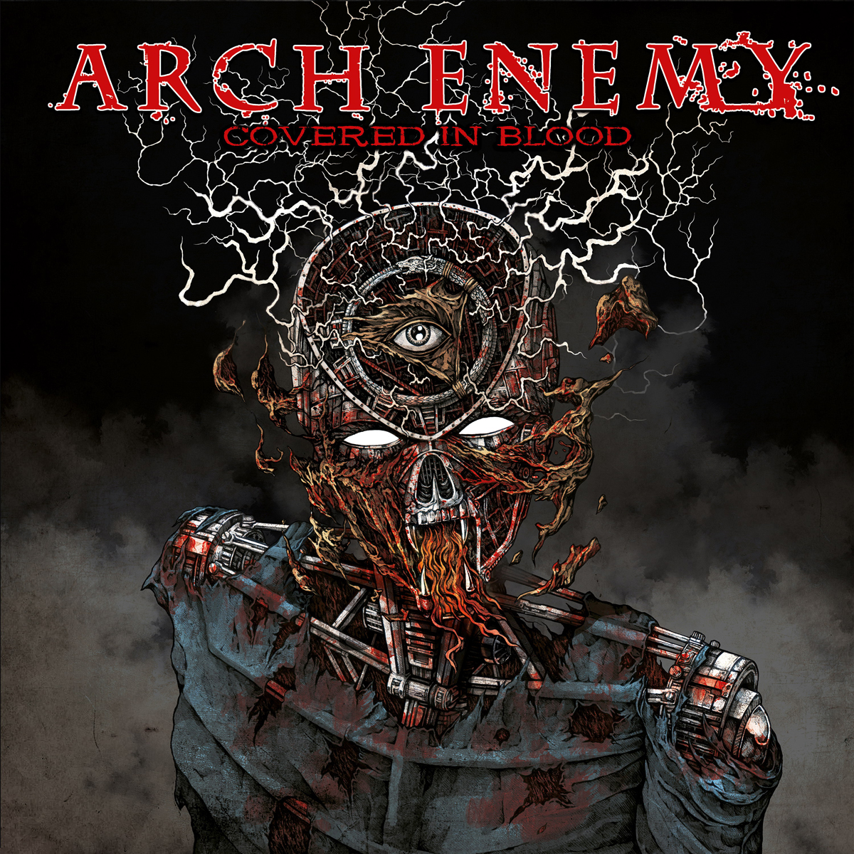 Arch Enemy Arch Enemy. Covered In Blood arch enemy arch enemy burning bridges deluxe edition