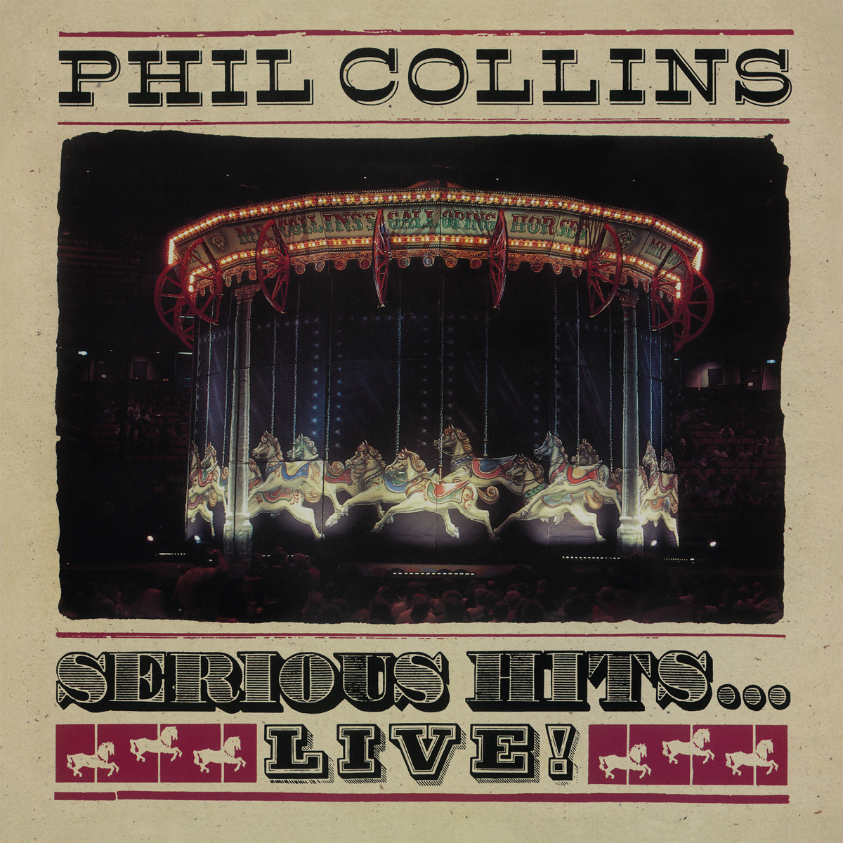 Фил Коллинз Phil Collins. Serious Hits… Live! (2 LP) phil collins phil collins the singles 2 lp
