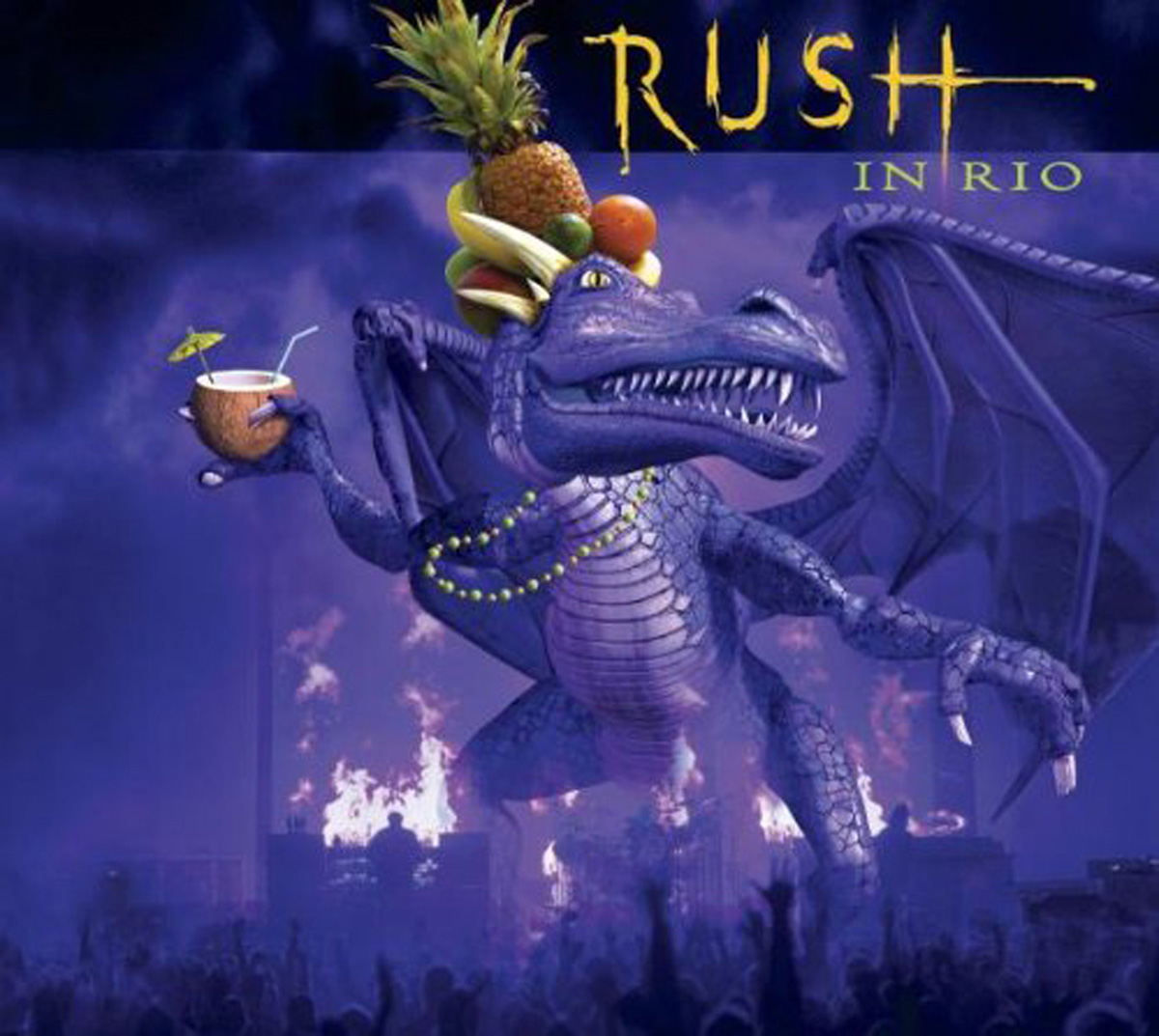 цена на Rush Rush. Rush In Rio (4 LP)