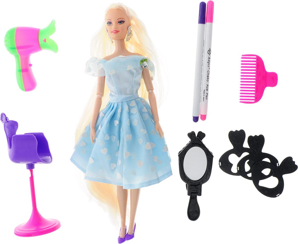 """Кукла модель """"Ася. Создаем прическу"""", 2926714, с аксессуарами, 29 см"""