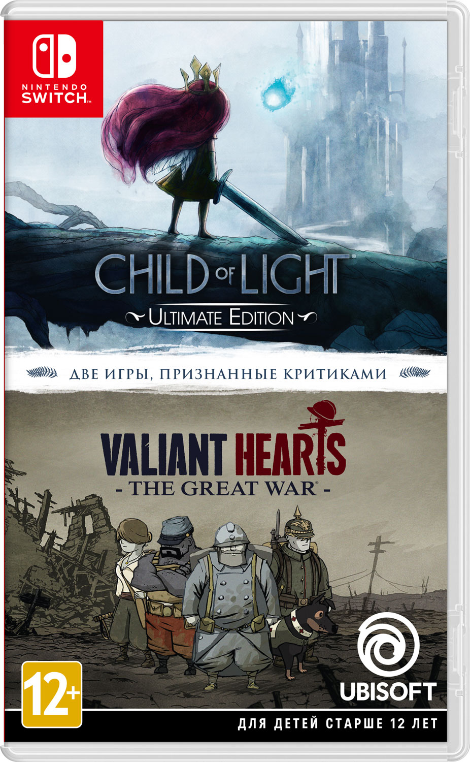 Child of Light / Valiant Hearts: The Great War (Nintendo Switch) геймпад nintendo switch pro controller