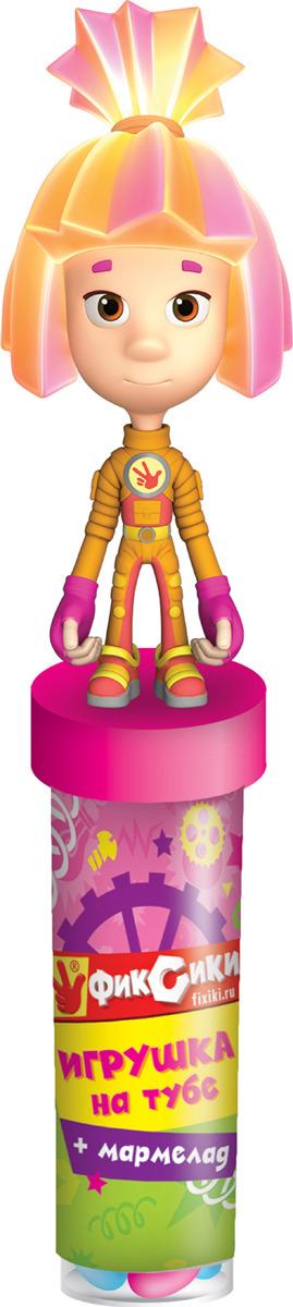Жевательный мармелад Конфитрейд Фиксики, в сахарной глазури, 20 г + игрушка Конфитрейд