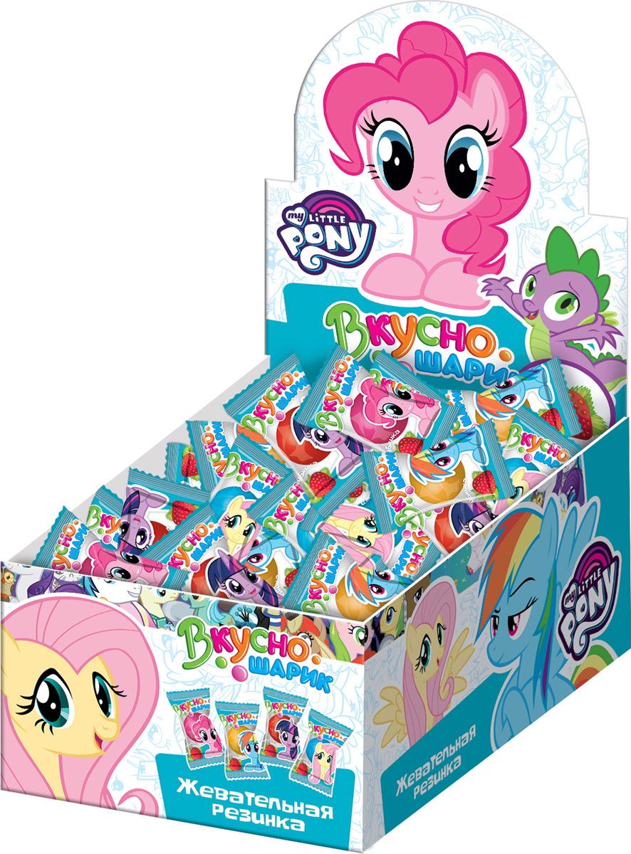 Фото - Жевательная резинка Конфитрейд My Little Pony Вкусношарик, с начинкой, 100 шт по 4 г жевательная резинка конфитрейд emojii без сахара 12 шт по 14 г