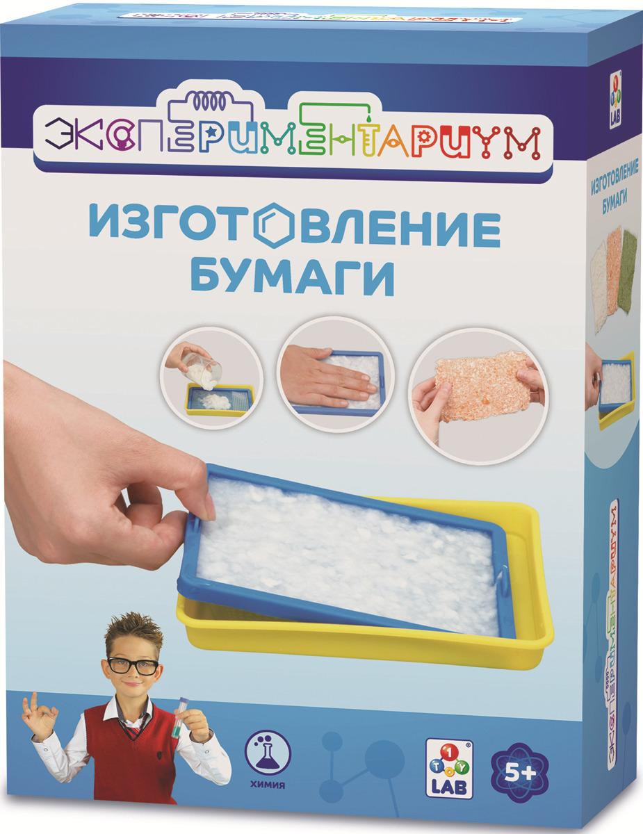 Набор для опытов и экспериментов 1TOY Эксперементариум Изготовление бумаги, Т14057 календарь изготовление
