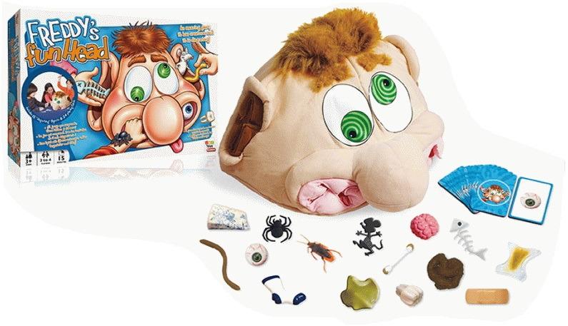 Настольная игра IMC Toys Freddy'S Fun Head, 7543 цена