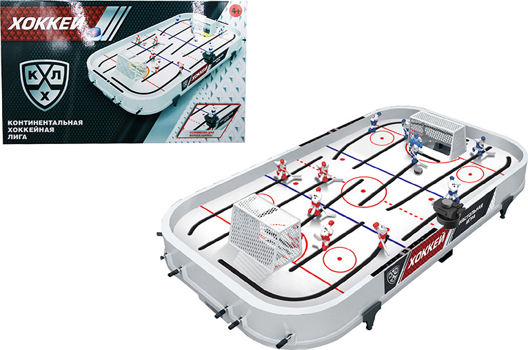 Настольная игра ABtoys Хоккей КХЛ, S-00093(WA-C7945), 59 x 8 x 35 см настольная игра abtoys футбол s 00092 wa c8044 50 5 х 29 х 9 см