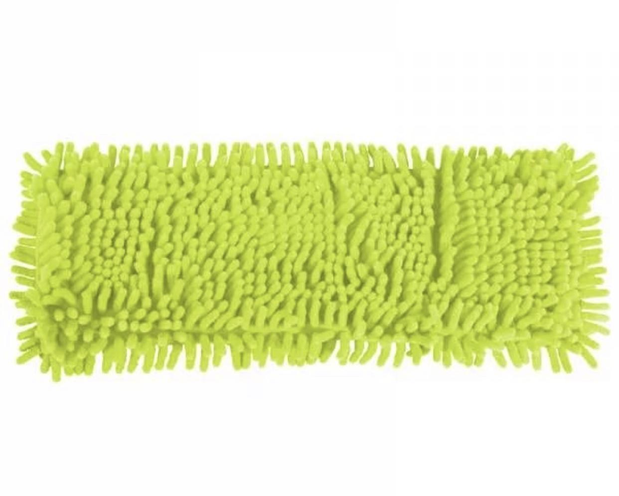 Насадка на швабру Markclub сменная MOP, MOP-1256, светло-зеленый насадка на швабру leifheit clean twist mop из микроволокна цвет белый бирюзовый