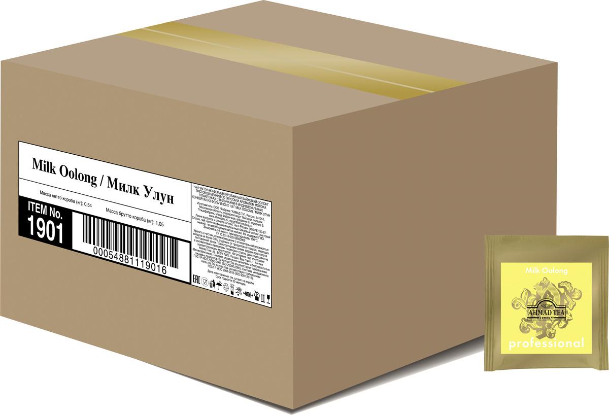 Чай в пакетиках Ahmad Tea Professional Милк Улун, 300 шт по 1,8 г ahmad tea english tea no 1 черный чай в пакетиках с ярлычками в конвертах из фольги 25 шт