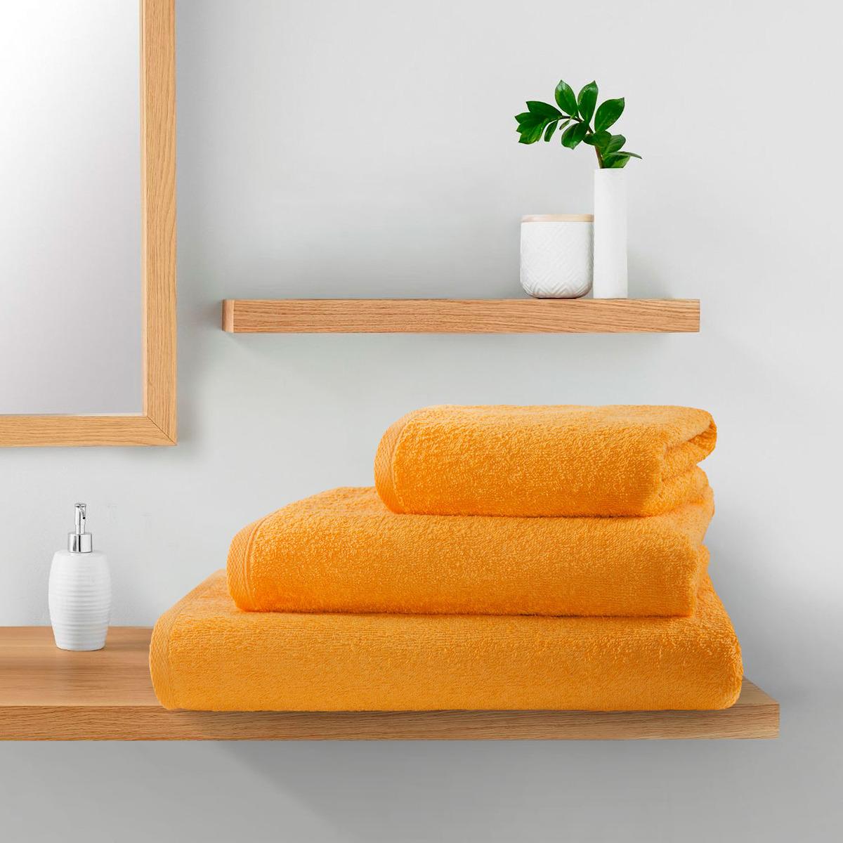 Полотенце Guten Morgen Комфорт, ПМЛб-50-90, оранжевый, 50 х 90 см