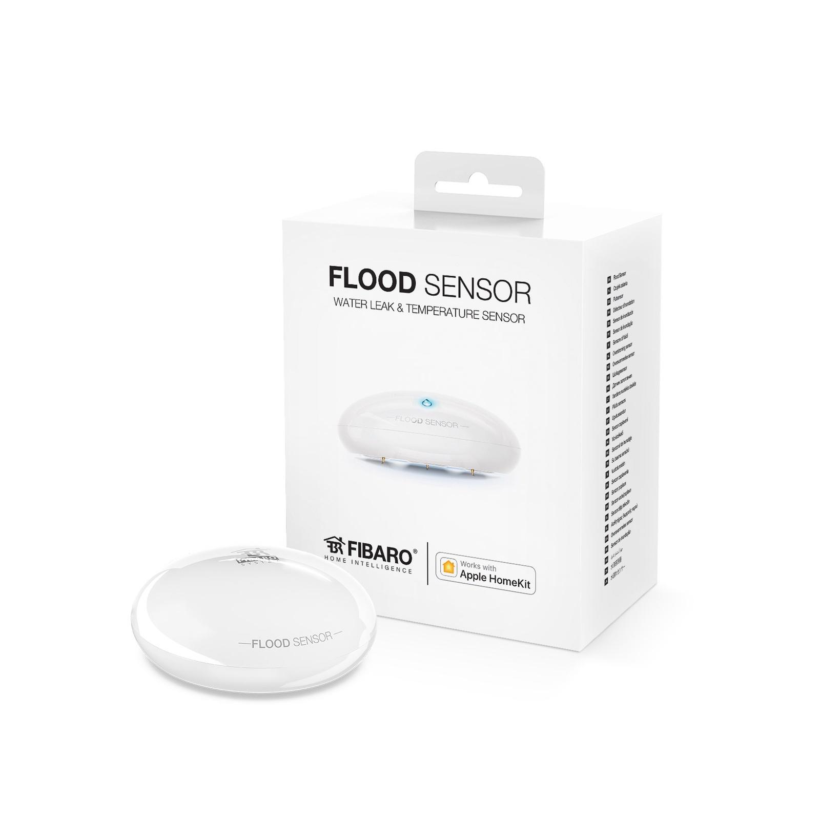 Модуль управления FIBARO Датчик затопления для Apple HomeKit, белый датчик температуры fibaro 4 pack ds 001 ru