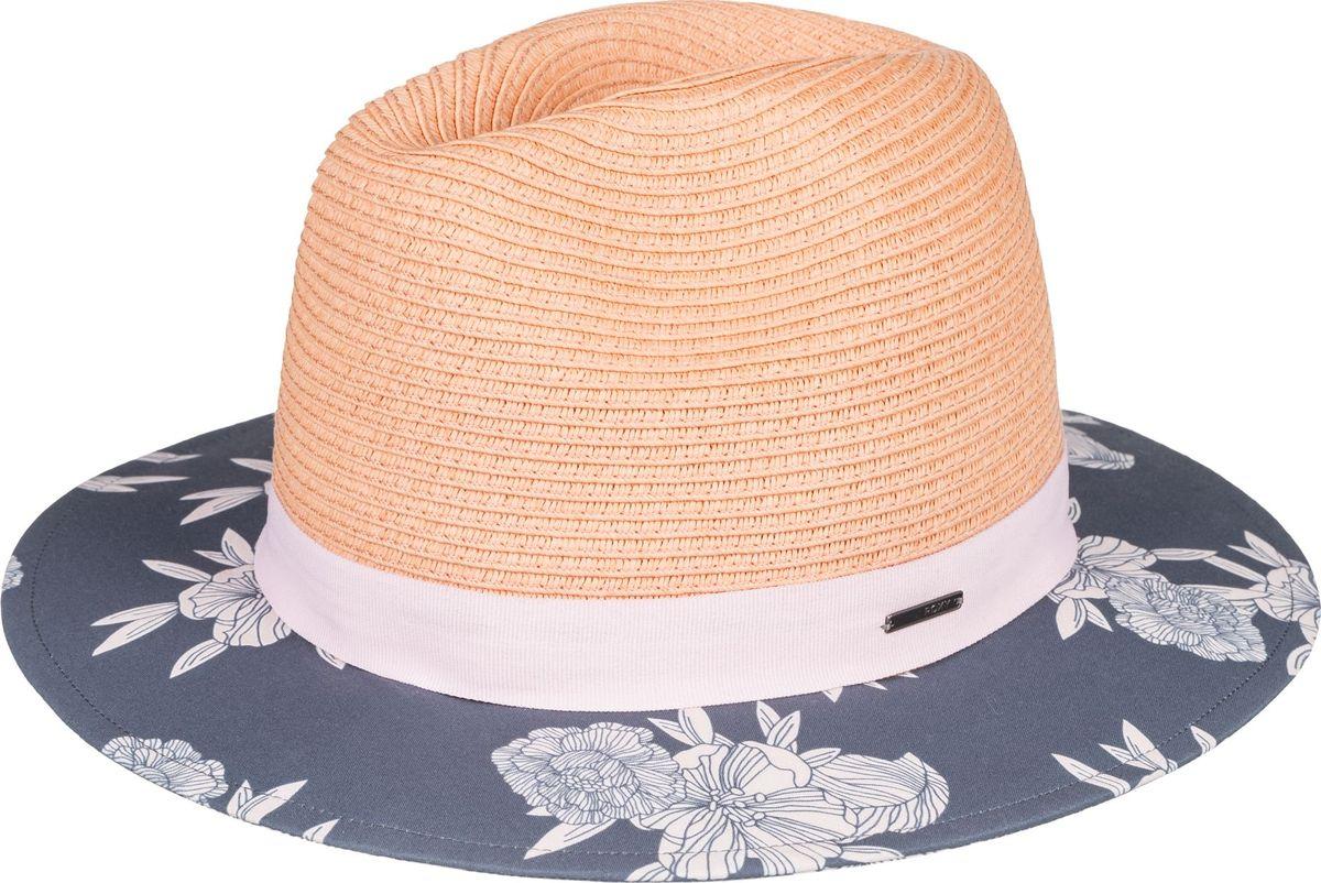 Шляпа женская Roxy Youhou J Hats, цвет: антрацитовый, светло-розовый. ERJHA03529-KYM6. Размер M/L (58) цены онлайн