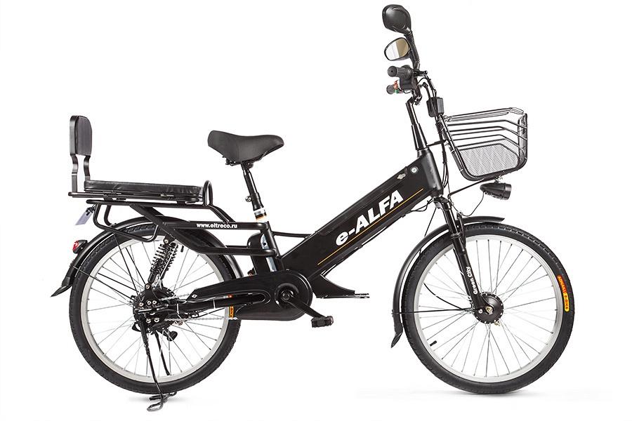 Электровелосипед Green City ALFA GL, K3-3