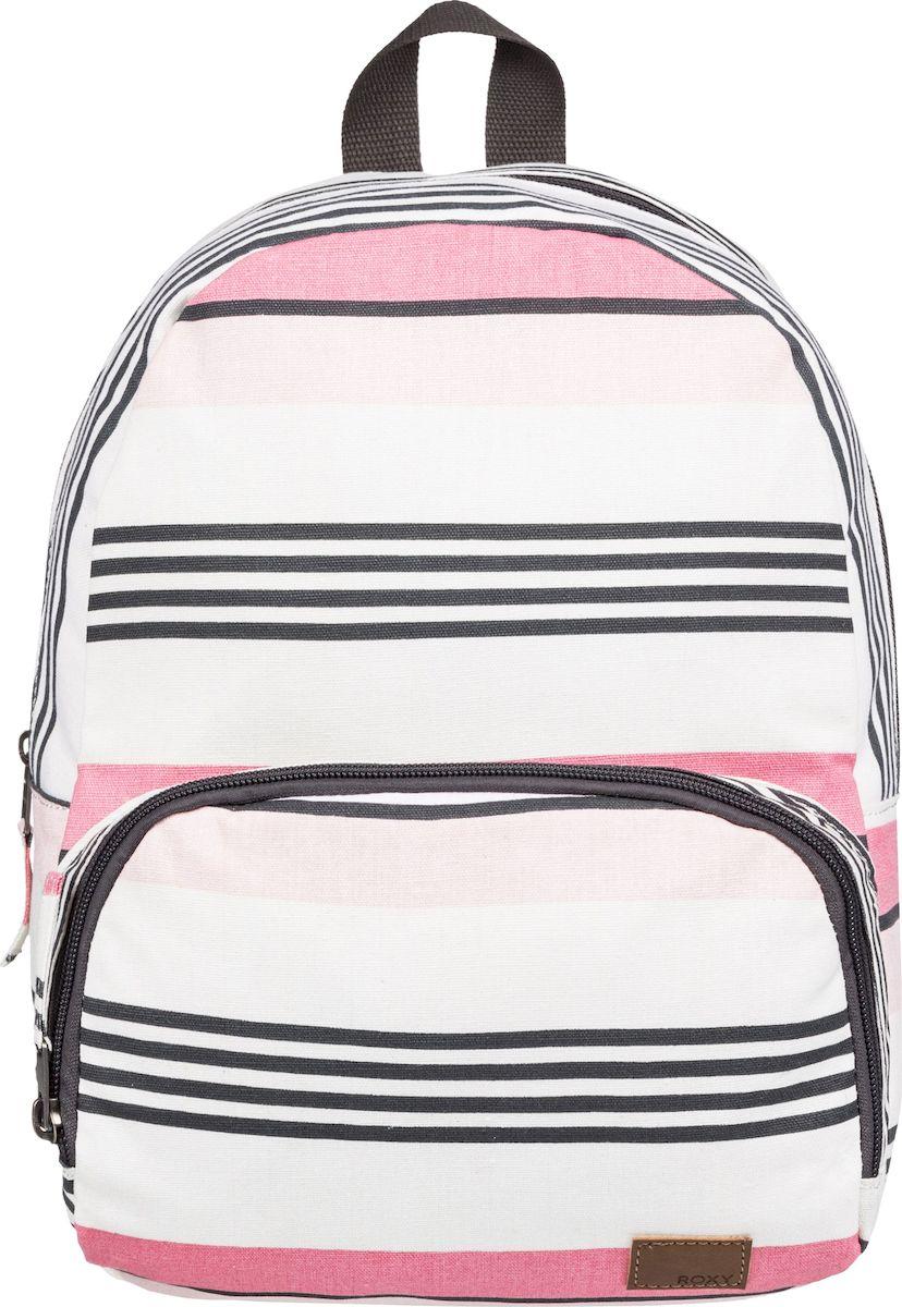 Рюкзак женский Roxy Always Core, ERJBP03830-WBT5, белый, розовый цена и фото
