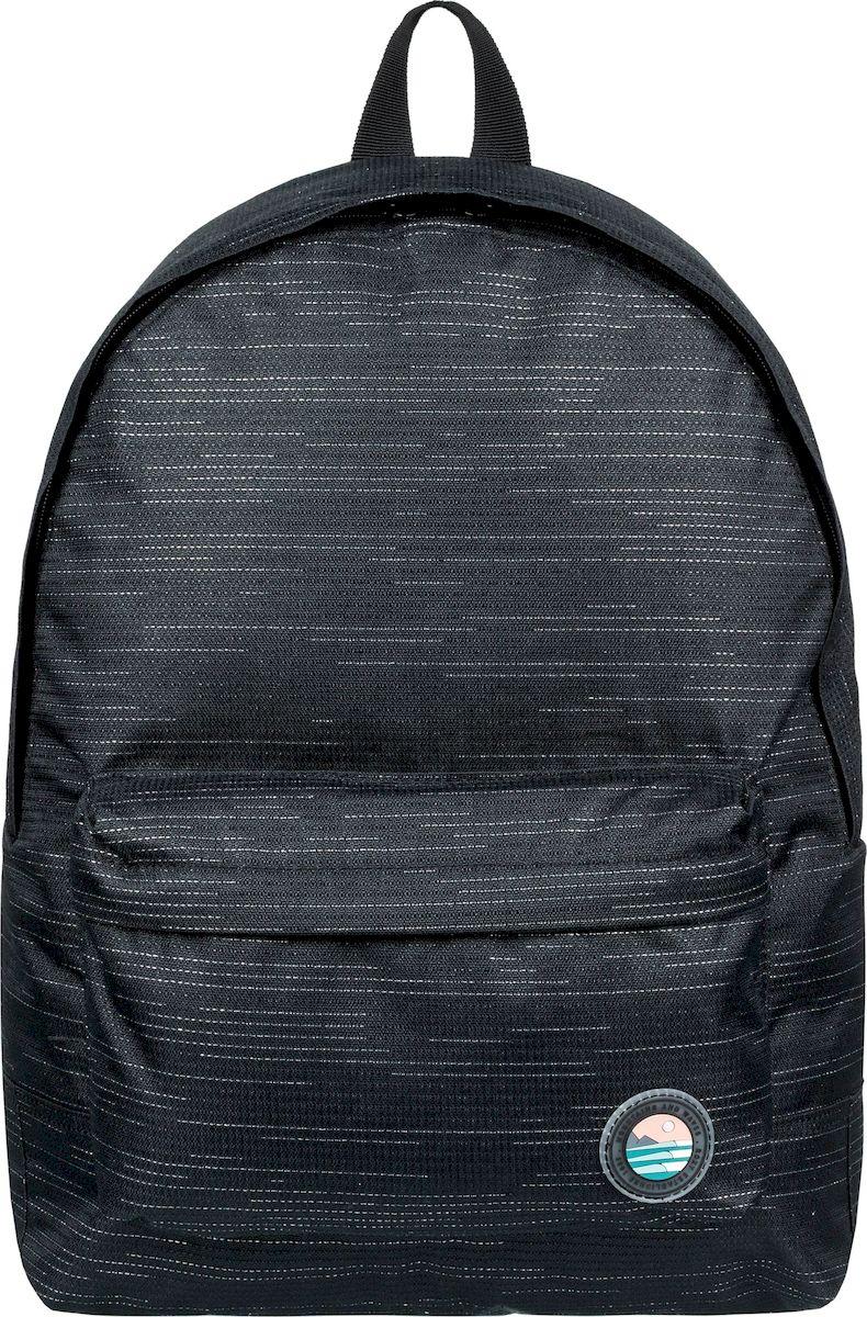 Рюкзак женский Roxy Sugar Baby Soli, ERJBP03838-KVJ0, черный цена и фото