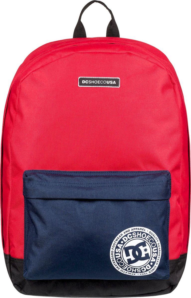 Рюкзак мужской DC Shoes Backstack Cb M, EDYBP03179-RQR0, ярко-красный рюкзак мужской quiksilver everydaypostemb m eqybp03501 bng0 королевский синий