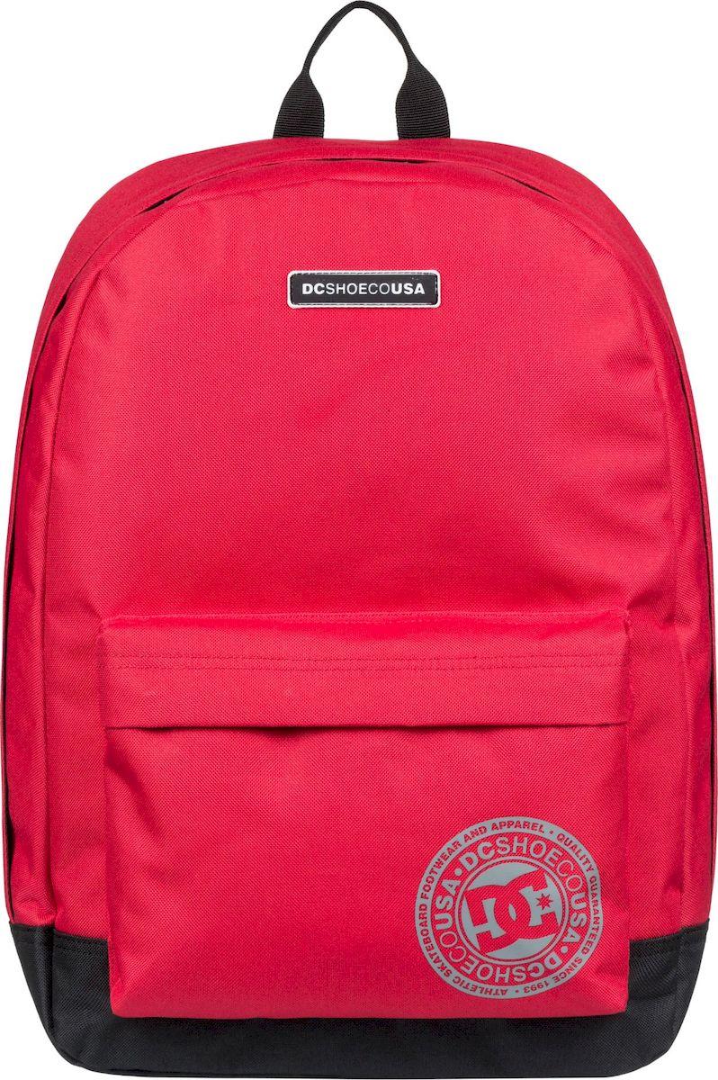 Рюкзак мужской DC Shoes Backstack M, EDYBP03180-RQR0, ярко-красный рюкзак мужской quiksilver everydaypostemb m eqybp03501 bng0 королевский синий