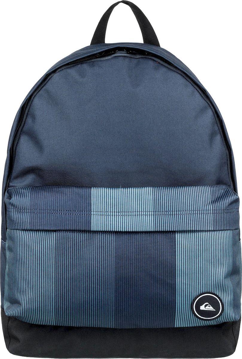 Рюкзак мужской Quiksilver Everyday Poster M, EQYBP03504-BST0, темно-синий, светло-синий цена 2017