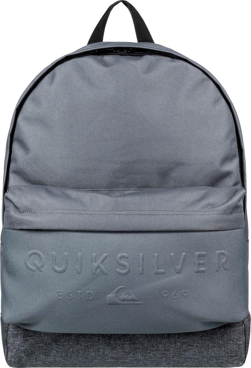 Рюкзак мужской Quiksilver Everydaypostemb M, EQYBP03501-KZM0, мышино-серый рюкзак мужской quiksilver everydaypostemb m eqybp03501 bng0 королевский синий