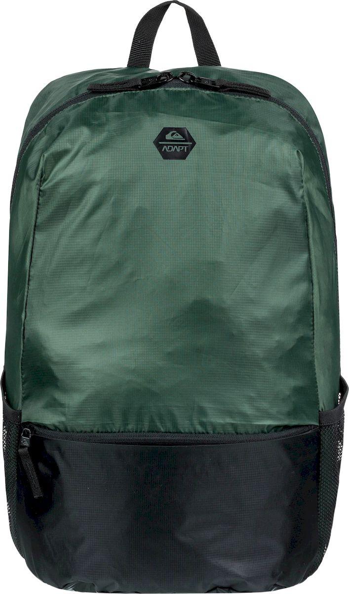 Рюкзак мужской Quiksilver Primitivpkble M, EQYBP03536-GRT0, зеленый рюкзак мужской quiksilver everydaypostemb m eqybp03501 bng0 королевский синий
