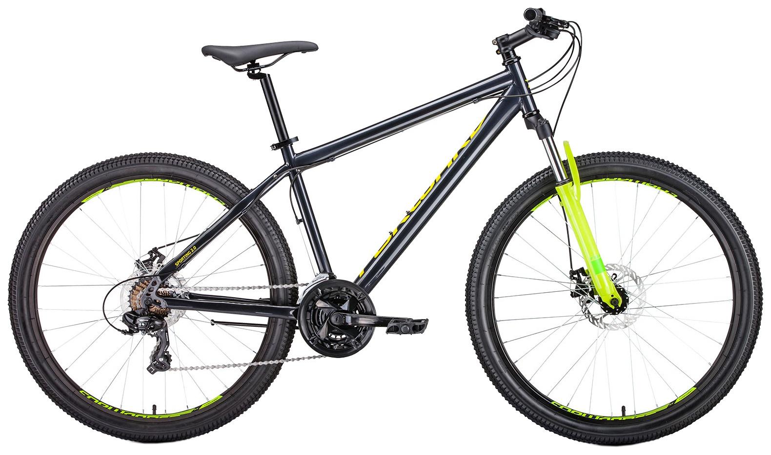 Велосипед Forward Sporting 27,5 2.0 disc , RBKW9MN7Q018, серый