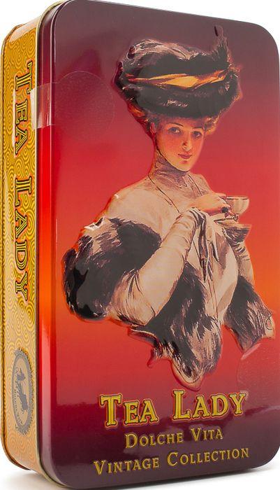 Чай листовой Dolche Vita Чайная Леди, 100 г dolche vita аристократический элитный черный листовой чай 160 г