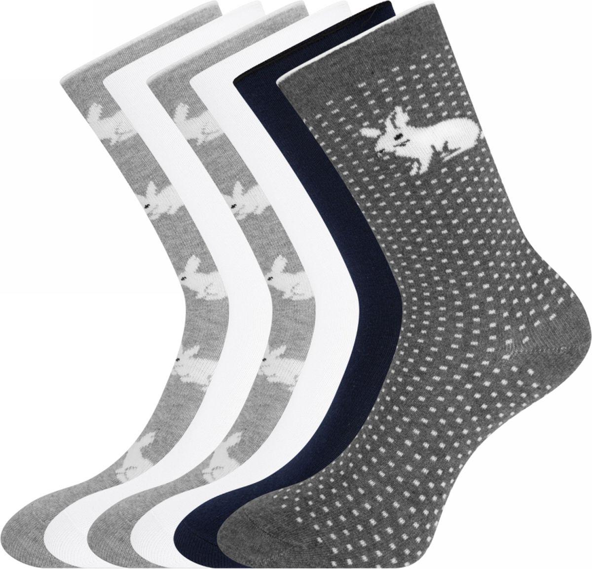 Носки oodji носки женские oodji цвет разноцветный 3 пары 57102602t3 48022 5 размер 35 37