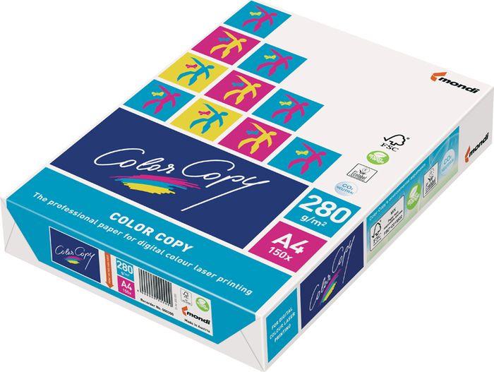 Бумага для принтера Color Copy формат A4, 87844, 150 листов87844Многофункциональная бумага высшего качества без покрытия для создания четких цветных изображений и текста. Однородная структура, гладкая поверхность, высокая степень белизны. Применяется для печати на цветных копировальных аппаратах, цветных и черно-белых лазерных принтерах, цифровых печатных устройствах. Плотность 280 г/кв.м. Яркость 110% по ISO. Белизна CIE 161%. Рекомендуем!