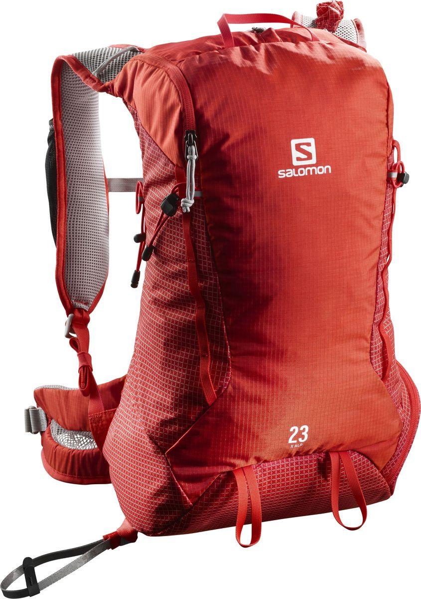 Рюкзак Salomon X Alp 23, L40119300, красный, 23 л