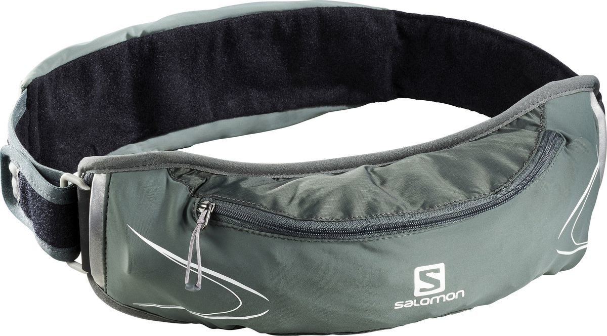 Сумка на пояс Salomon Agile 500 Belt Set, LC1089900, зеленый