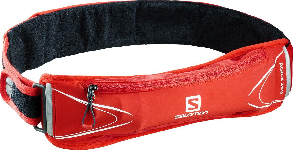 Сумка на пояс Salomon Agile 250 Belt Set, LC1090300, красный