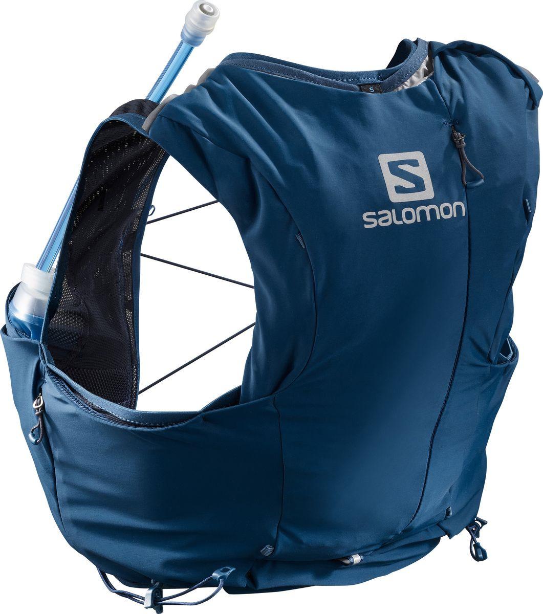 Рюкзак Salomon Advanced Skin 8 Set W, LC1048600, синий, размер M