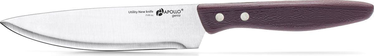Нож универсальный Apollo Genio Favorite, FVR-02, фиолетовый, длина лезвия 12,2 см